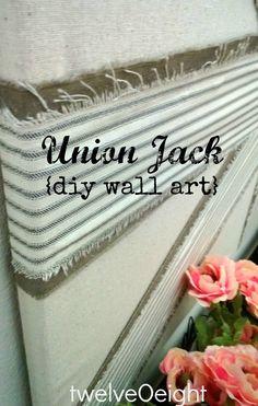 diy union jack - Google Search