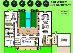 H Shaped Farm House Plans Shaped House Plan 3 Copyright