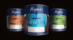 Milk Packaging, Brand Packaging, Packaging Design, Paint Brands, Good Housekeeping, Mockup Templates, Cat Design, Buckets, Thesis