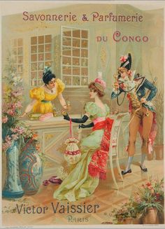 Le château de Victor Vaissier ou le Palais du Congo du roi du savon: Affiches