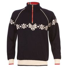 Dale Of Norway Mens Sochi Knitted Sweater (Navy/Off White/Raspberry) | | SportPursuit.com