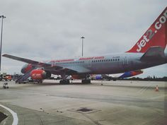 Our 757 ;D Leeds Bradford, Jet, Aircraft, Aviation, Planes, Airplane, Airplanes, Plane