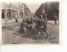 Anti-tank gun at work