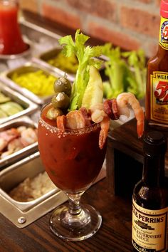 Ultimate Build Your Own Bloody Mary Bar