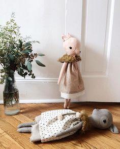 oh deer! soft toy ciervo - muñeco de trapo
