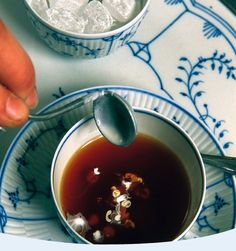 Ostfriesentee--how those from Ostfriesland do tea.  The ritual is quite awesome.