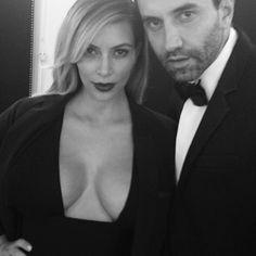 Is Kim Kardashian the Marilyn Monroe of our time? Riccardo Tisci thinks so. Click through to read more.
