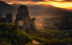 Holy Sunset by Thrasivoulos Panou #500px