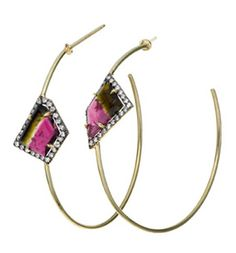 Jemma Wynne Bi-Color Tourmaline Earrings