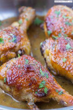 Baked Honey Mustard Chicken