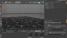 Cinema 4D tutorial explaining the technique to model a 3D Cell structure using just Mograph and displacer objects.