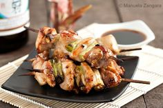 Learn how to make Classic Yakitori Chicken at home using these simple recipes Veggie Recipes, Asian Recipes, Chicken Recipes, Dinner Recipes, Cooking Recipes, Veggie Food, Cooking Tips, Snack Recipes, Japanese Dishes