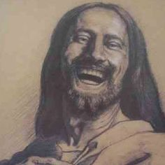 Laughing Jesus...always makes me smile.