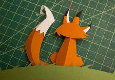 paper craft graphic design