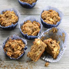 Nutritionicity | Recipe: Apple Cake Muffins (Gluten-Free, Vegan, Refined Sugar-Free)