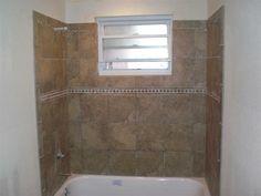 Downstairs bathroom: tile idea.