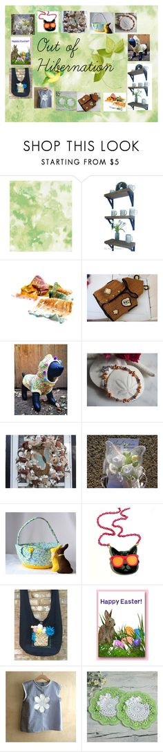 """Out of Hibernation: Handmade Spring Gifts"" by paulinemcewen on Polyvore featuring rustic"