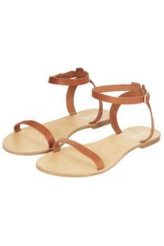 HOPSCOTCH Two Part Sandals - Topshop USA