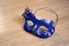 DIY masquerade mask.