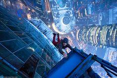 Dizzying Photos of Ukrainian Daredevil Hanging from Tall Buildings | Bored Panda