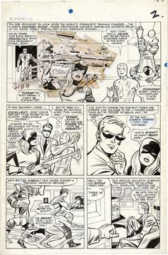 Page from X-MEN #10 by Jack Kirby and Chic Stone. You can see...