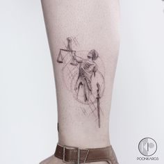 Lady Justice for Jessica Done at @iristattooart FAVORITE