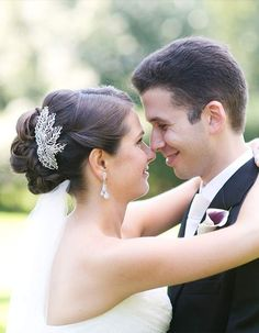 wedding hairstyle; photo: Meg Miller Photography