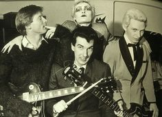 Siouxsie and the Banshees, ca 1977 via