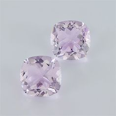 12.43 ct 12x12x7.4 mm AAA Cushion Loupe Clean Faceted type Pink Amethyst
