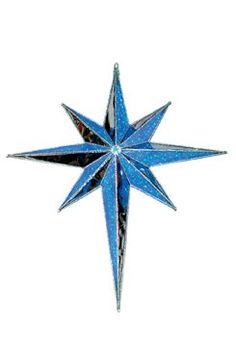 Giant led star of bethlehem warm white giant bethlehem star display make a big statement with this large blue led star by gki bethlehem from christmas night inc workwithnaturefo