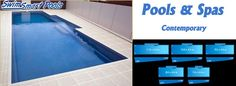 contemporary pools | SwimSmart Pools - DIY Pools - Owner Builder Construction - Save ...