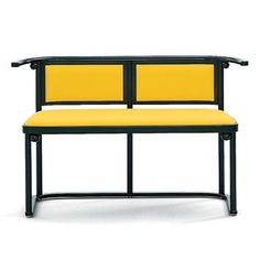 Wittmann Fledermaus Bench - Style # 8420, Contemporary Benches, Modern Stools, Contemporary Stools, Modern Benches at SWITCHmodern.com