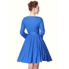 Heroecol® 50s 60s Hepburn 3/4 Sleeve Style Vintage Retro Swing Rockabilly Dresses  https://www.amazon.com/gp/product/B017Q0G0IC/ref=as_li_qf_sp_asin_il_tl?ie=UTF8&tag=rockaclothsto-20&camp=1789&creative=9325&linkCode=as2&creativeASIN=B017Q0G0IC&linkId=dce362b771141c995848ec06ea6f23b1