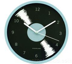 Retro Record Wall Clock ($10.99, PerpetualKid.com)