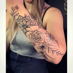 Forarm Tattoos, Body Art Tattoos, Small Tattoos, Cool Tattoos, Forearm Tattoos For Women, Half Sleeve Tattoos Forearm, Lower Arm Tattoos, Quarter Sleeve Tattoos, Forearm Flower Tattoo
