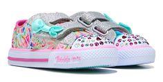 Skechers Twinkle Toes Baby Love Sneaker Toddler Pink/Multi