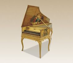 French harpsichord. 1765 .