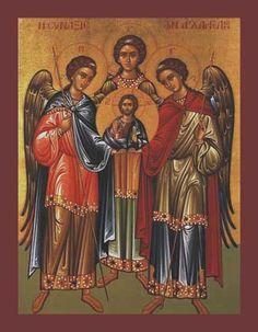 Iconografia bizantina arcanjos - Pesquisa Google
