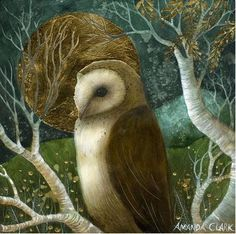 Another stunning work by Amanda Clark