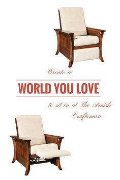 12 best living room seating images morris chair amish furniture rh pinterest com