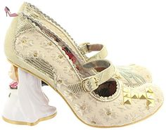 Irregular choice, escarpins femme i lOVE yOU 4236–01 - Beige - Beige, Taille 38 EU - Chaussures irregular choice (*Partner-Link)
