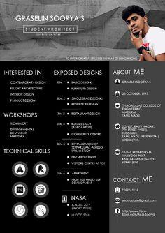 Architecture student resume