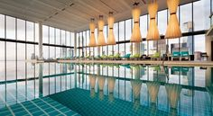 Also on Australia's most amazing hotel pools... the Crown Metropol puts you right in the city of Melbourne!