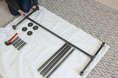 Assembling the Table Legs
