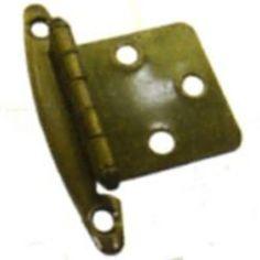 Mintcraft CH-221 Non Self-Closing Hinges, Antique Brass