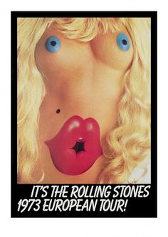 John Pasche - It's The Rolling Stones 1973 European Tour - Eyestorm