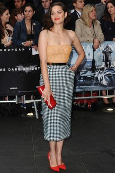 Marion Cotillard wearing Christian Dior Couture. See the weekly best dressed list http://www.vogue.com.au/people+parties/galleries/best+dressed+red+carpet+24072012,20299?pos=0=1#top