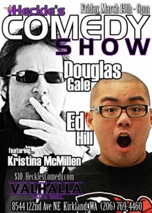 Heckle's Comedy Presents Douglas Gale & Ed Hill Comedy Tickets, Comedy Show, Presents, Movies, Movie Posters, Gifts, Film Poster, Films, Popcorn Posters