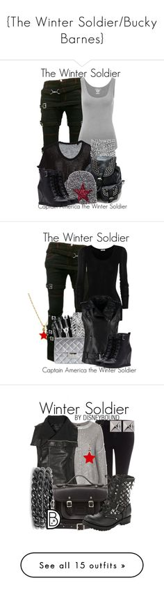 """{The Winter Soldier/Bucky Barnes}"" by hannahluladybuggirl ❤ liked on Polyvore featuring Majestic, Yves Saint Laurent, Forever 21, women's clothing, women, female, woman, misses, juniors and Cath Kidston"