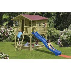 verschiedene Spielhäuser - HOQ Spielgeräte und Gartendekoration